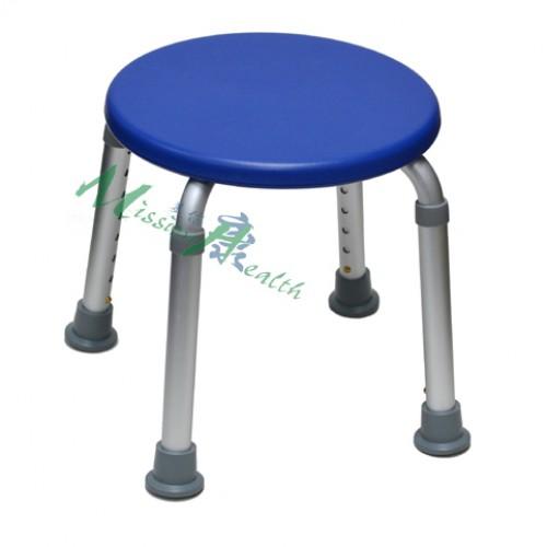 8608  圓形浴椅(藍色)