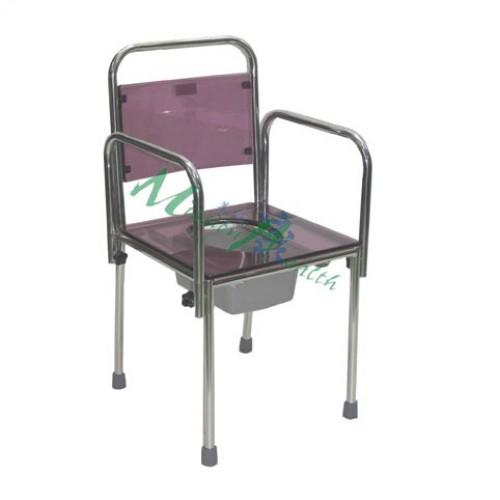 GA-0722  不銹鋼廁椅(插入式扶手)