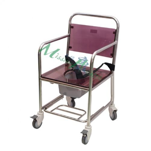 GE-0301 不銹鋼浴廁車(固定式扶手)
