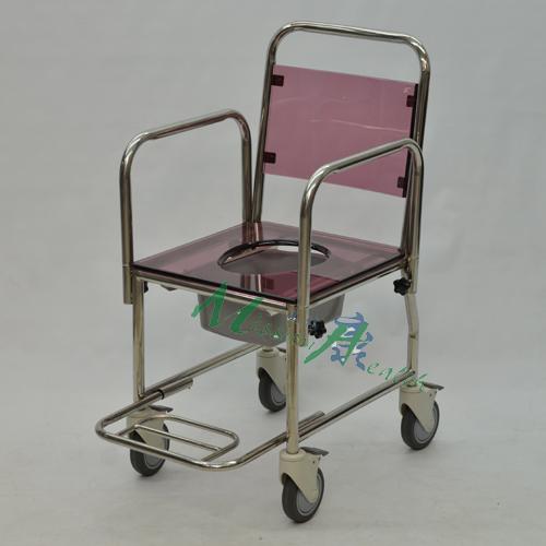 GE-0311 不銹鋼浴廁車(插入式活動扶手)
