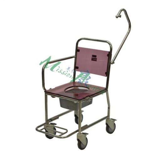 GE-0321 不銹鋼浴廁車(上旋式活動扶手)