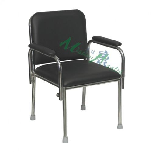 GA-0412  不銹鋼扶手椅(插入式扶手)