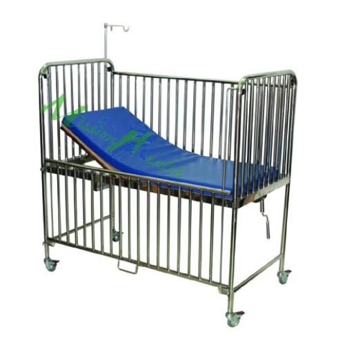 GF-0202  不銹鋼兒童單攪床