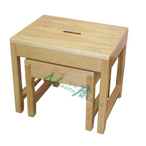 GA-0131  木方型套凳